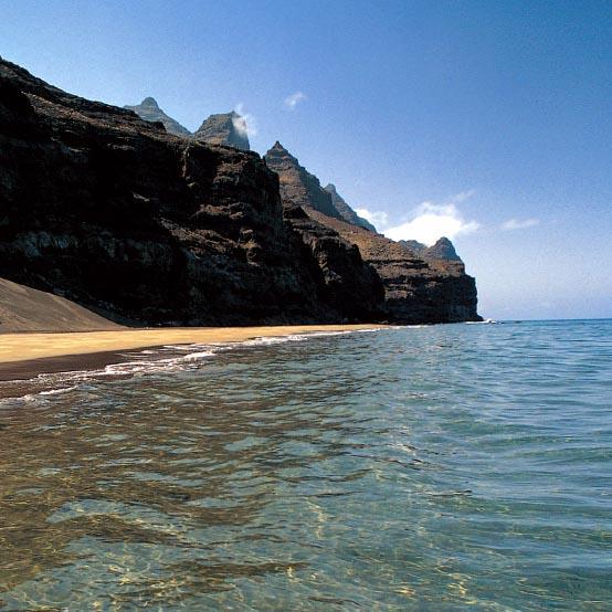 Güigüi Gran Canarian länsirannikolla. Kuva: Grancanaria.com
